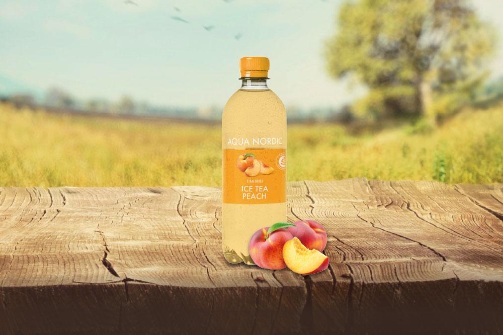 Nyhed 2021  -  Aqua Nordic ICE TEA Peach